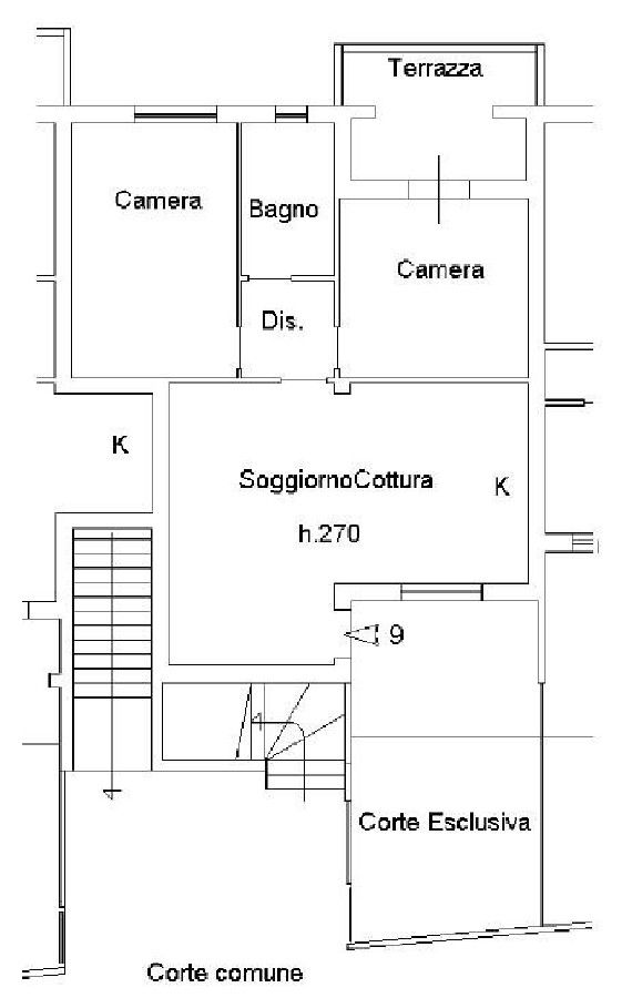 Appartamento a Gavorrano (4/5)