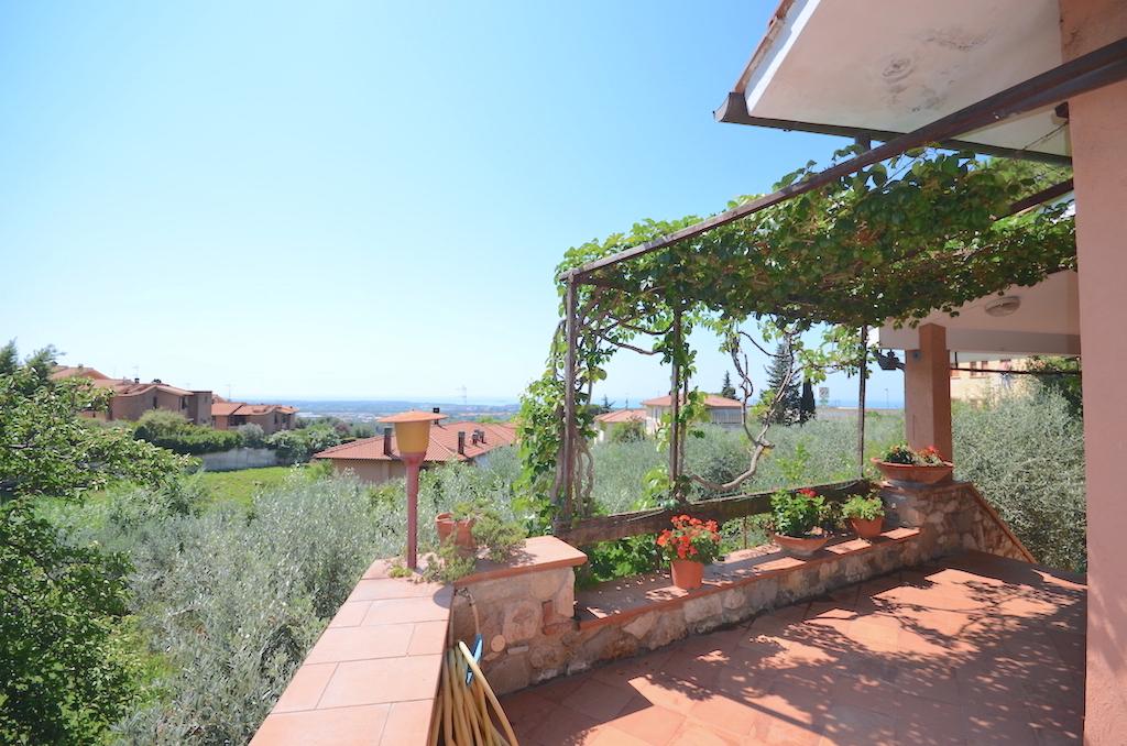 Relaxing sea view villa 5 km from Castiglioncello (Rosignano Marittimo)